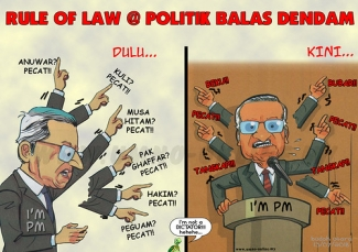 "rule of law @ politik balas dendam • <a style=""font-size:0.8em;"" href=""http://www.flickr.com/photos/95569535@N05/43379766191/"" target=""_blank"">View on Flickr</a>"
